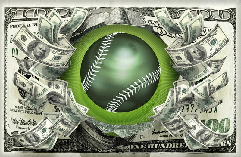 野球で稼ぐ